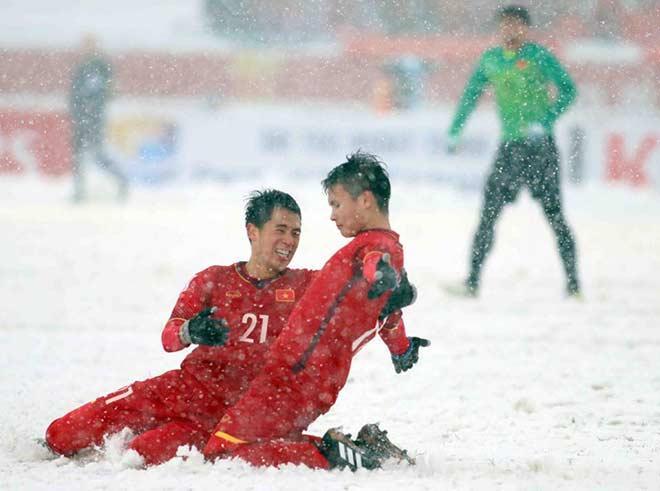 Các cầu thủ U23 Việt Nam lăn xả thi đấu đến cùng đã nhận được sự cảm phục của nhiều người.