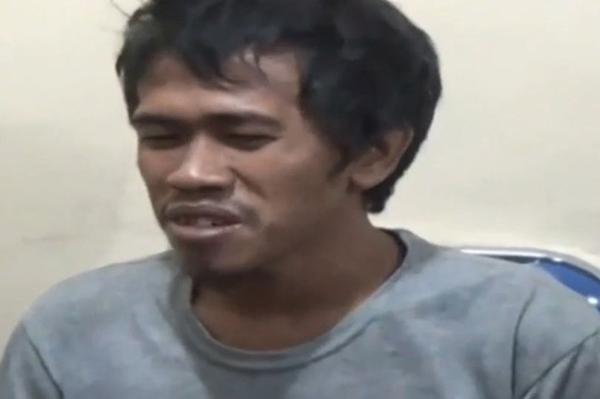 HB hiện bị cảnh sát bắt giam và buộc tội giết người. Ảnh: AsiaWire/Liputan6 SCTV.