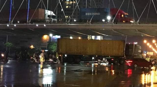 Tuyến đường Nguyễn Bỉnh Khiêm từng xảy ra vụ TNGT thương tâm khiến 1 nữ sinh tử vong do bị xe container chèn