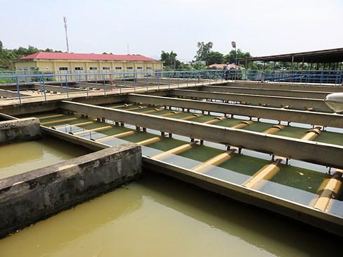 Nhà máy nước (NMN) Cầu Đỏ đang phải hoạt động hết công suất để đảm bảo cấp nước cho TP Đà Nẵng, nhưng với tình hình nhiễm mặn ngày càng tăng cao thì nguy cơ thiếu nước sẽ diễn ra trong thời gian tới (Ảnh: HC)