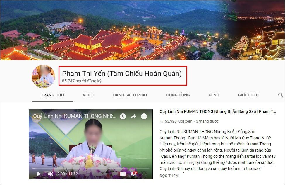 Kênh YouTube của