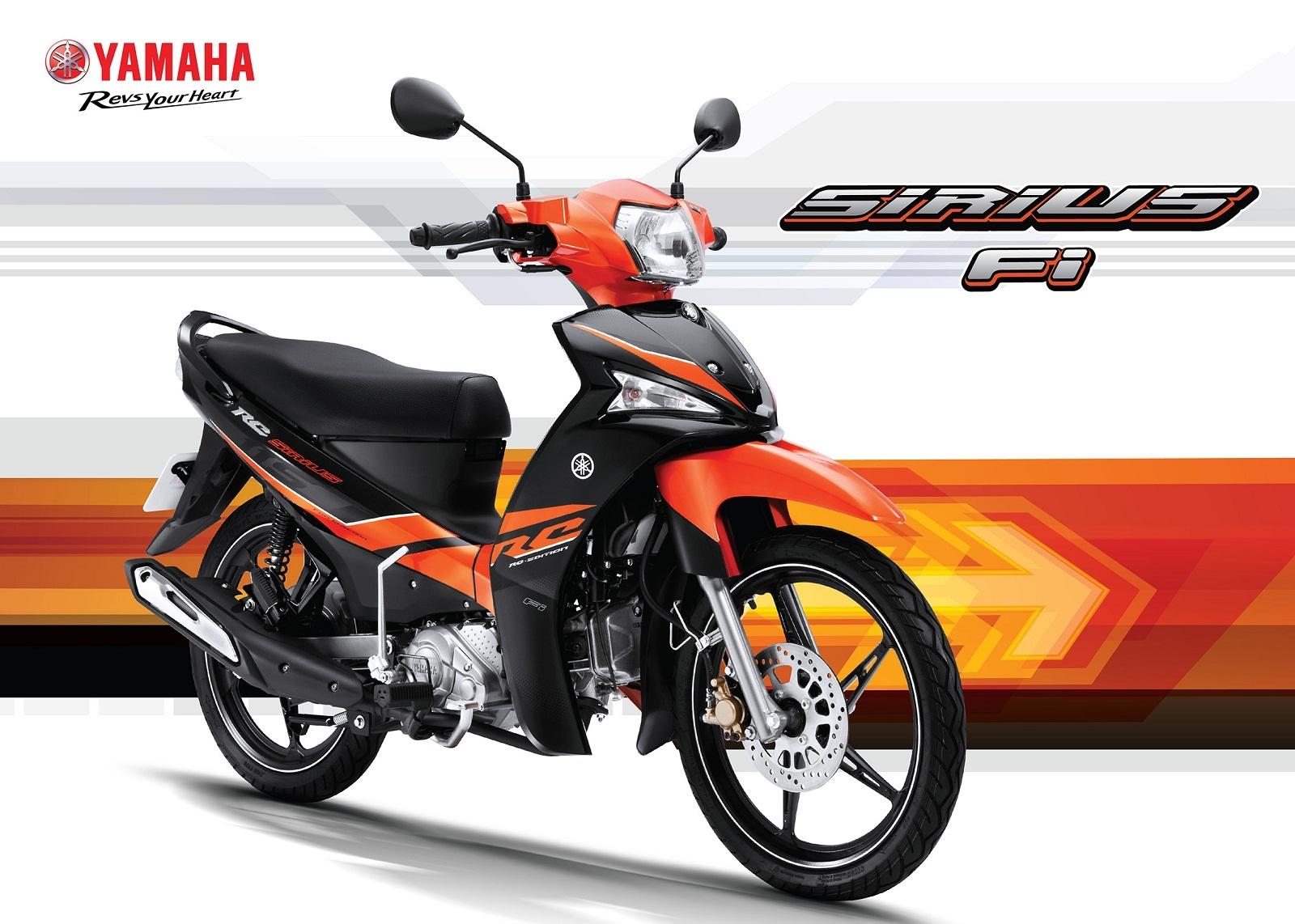 Xe số Sirius của Yamaha luôn được người dùng biết đến là một chiếc xe bền bỉ và tiết kiệm nhiên liệu