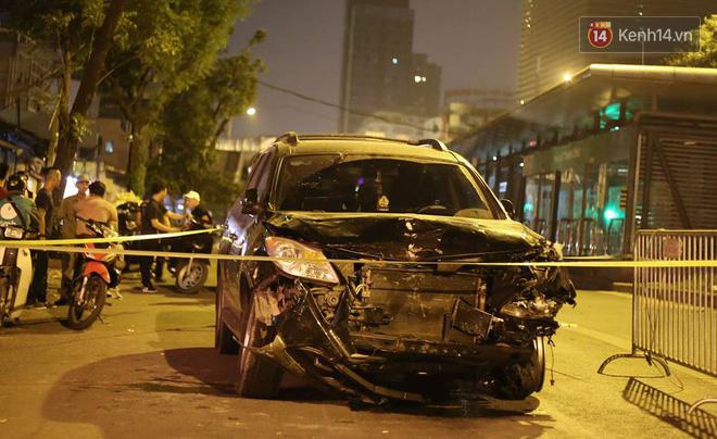 Chiếc xe gây tai nạn.