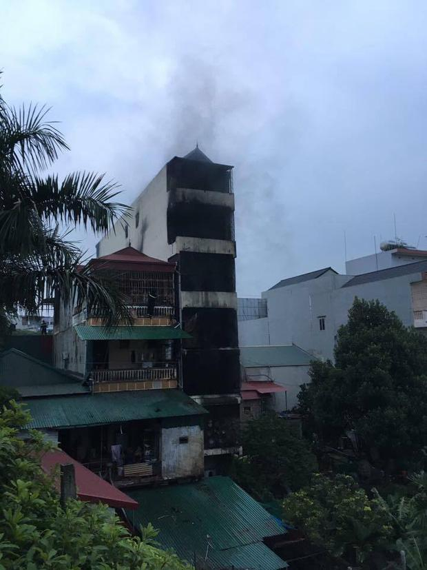 Ngôi nhà nơi xảy ra vụ cháy.