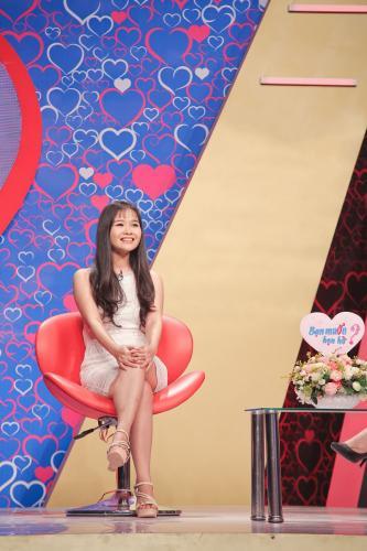 Trần Thị Thùy là một cô gái xinh xắn, dễ thương. (Ảnh: Fb Bạn muốn hẹn hò)