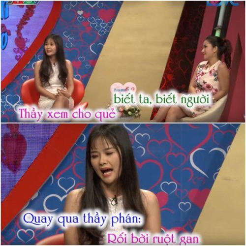 Không những xinh đẹp, Trần Thùy còn là một cô gái ăn nói có duyên. (Ảnh: Cắt từ video)