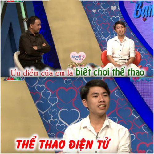 Quang Sử có khá nhiều ưu điểm khiến cho Trần Thùy cũng phải rung rinh. (Ảnh: Cắt từ video)