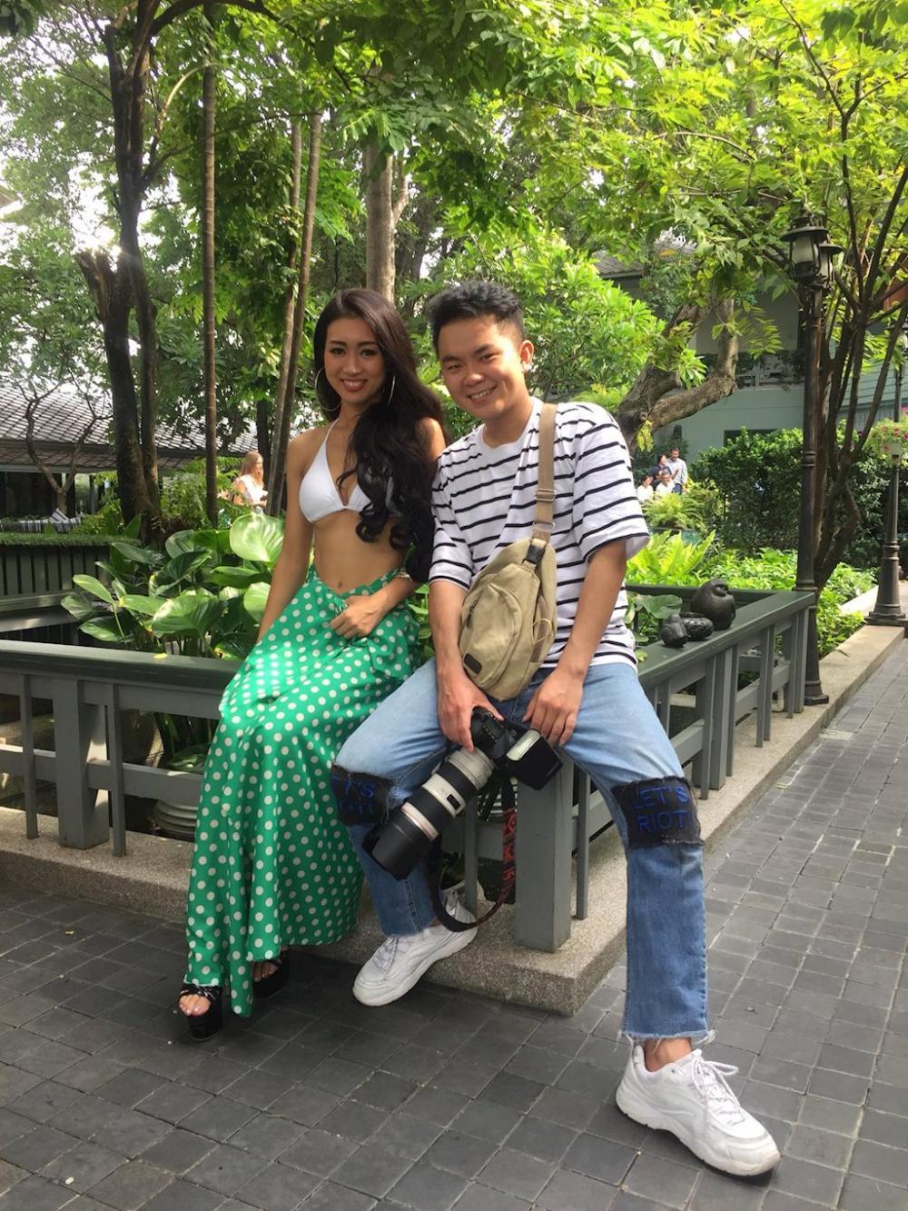 Trở thành nhiếp ảnh giúp Tuấn có cơ hội tiếp xúc với nhiều người nổi tiếng.
