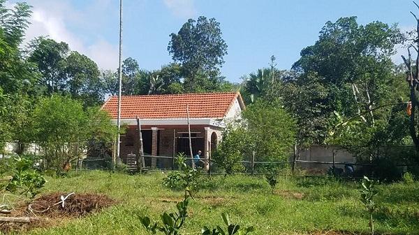 Ngôi nhà nơi xảy ra vụ bắn s.úng.