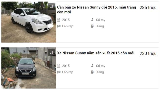 Nissan Sunny sử dụng 4-5 năm cũng là một gợi ý ô tô 300 triệu bền bỉ.