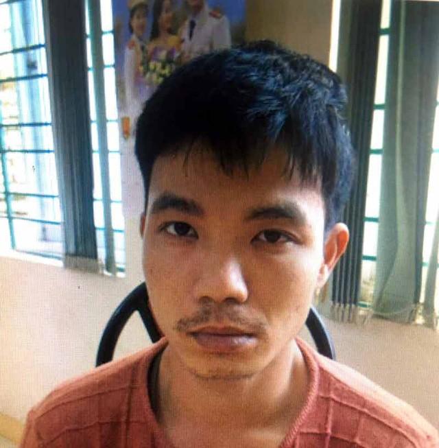 Chân dung đối tượng Phạm Văn Giang tại CQĐT. Ảnh: CA