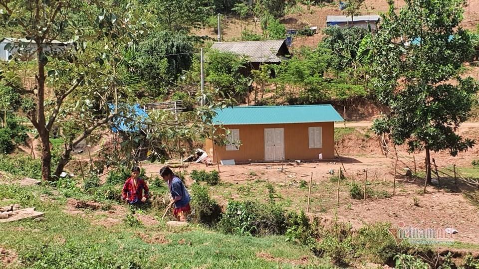 Một ngôi nhà tình nghĩa dành cho hộ nghèo tại bản Huổi Ban (xã Mường Nhé)