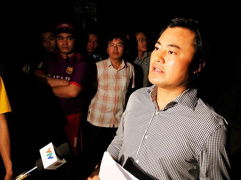 Ông Bùi Xuân Cường, Giám đốc Sở GTVT TP.HCM cho biết tài xế xe tải đã bỏ qua các cảnh báo về tải trọng. Ảnh Nguyễn Tân.