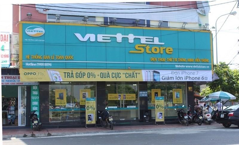 Cửa hàng ĐTDĐ Viettel - Ảnh minh họa