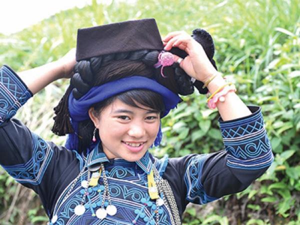 Nữ phục Hà Nhì đen