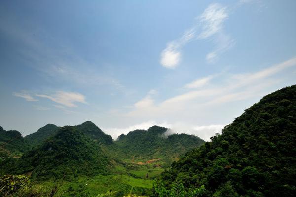 Khu vực đèo Thung Khe