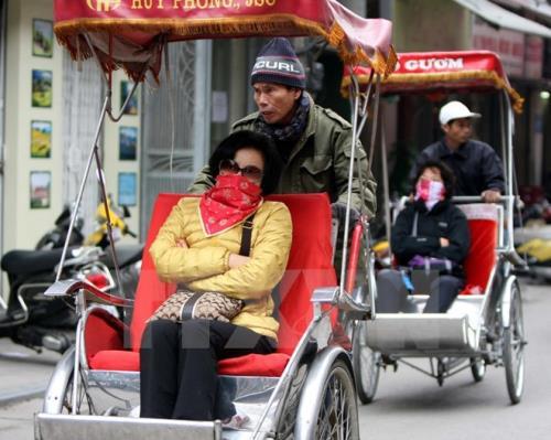 Dự báo thời tiết 7 ngày tới: Hà Nội kết thúc đợt rét đầu tiên, đến 2/12 trời rét trở lại. Ảnh: TTXVN