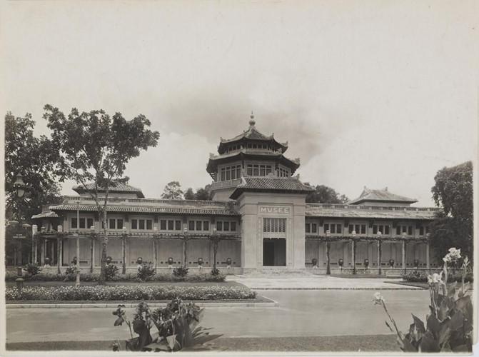 Viện bảo tàng Blanchard de La Brosse (khánh thành ngày 1/1/1929) trong Thảo Cầm Viên Sài Gòn, nay là Bảo tàng Lịch sử Quốc gia Việt Nam. Ảnh: Paris.fr.