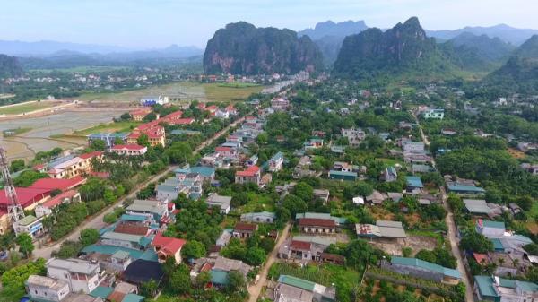 Một góc thị trấn Mường Khến hôm nay.