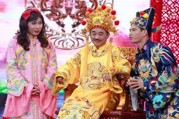 Bộ 3 Ngọc Hoàng - Nam Tào - Bắc Đẩu đã trở nên quá quen thuộc với khán giả trong mỗi mùa Táo Quân.