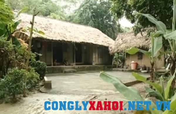 Ngôi nhà của gia đình bà Nguyễn Thị Năm (mẹ anh P.V.Q)