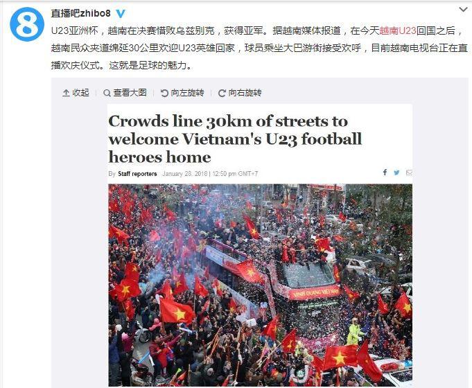 Một tài khoản Weibo viết: