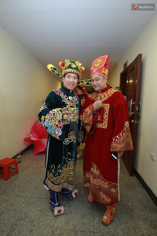 Quang Thắng và Tự Long.