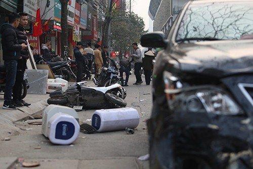 Vụ tai nạn giao thông xảy ra tại Hà Đông, TP. Hà Nội.