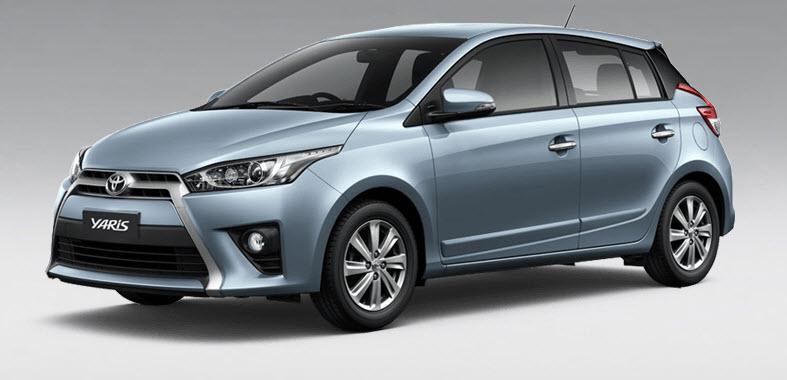 Toyota Yaris có giá bán khoảng 329 triệu đồng tại thị trường Thái Lan. Ảnh: Toyota