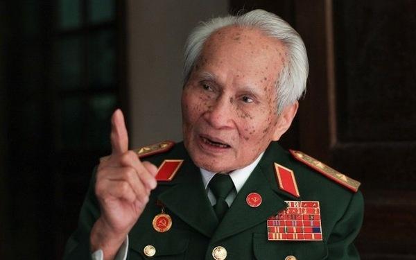 Trung tướng Nguyễn Quốc Thước, nguyên Ủy viên TƯ Đảng, nguyên Tư lệnh Quân khu 4. Ảnh Tuổi Trẻ