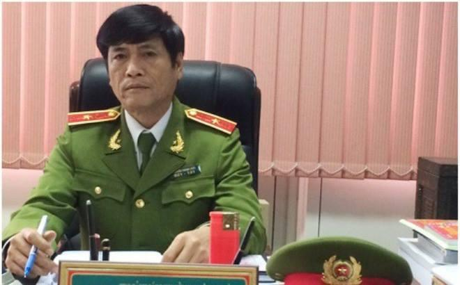 Thiếu tướng Nguyễn Thanh Hóa, nguyên cục trưởng Cục Cảnh sát phòng chống tội phạm công nghệ (C50) vừa bị bắt tạm giam