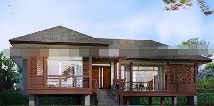 Thiết kế độc lạ mang đến không gian biệt thự hoàn toàn mới. Ảnh: Maunhadep902.