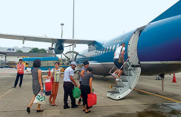 CHK Điện Biên hiện có 3 vị trí đậu, đảm bảo khai thác các loại tàu bay ATR72 và tương đương