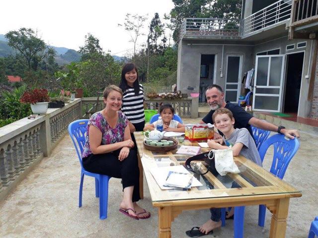 Với chị Vân, làm du lịch cộng đồng, quan trọng nhất là sự hài lòng của du khách.