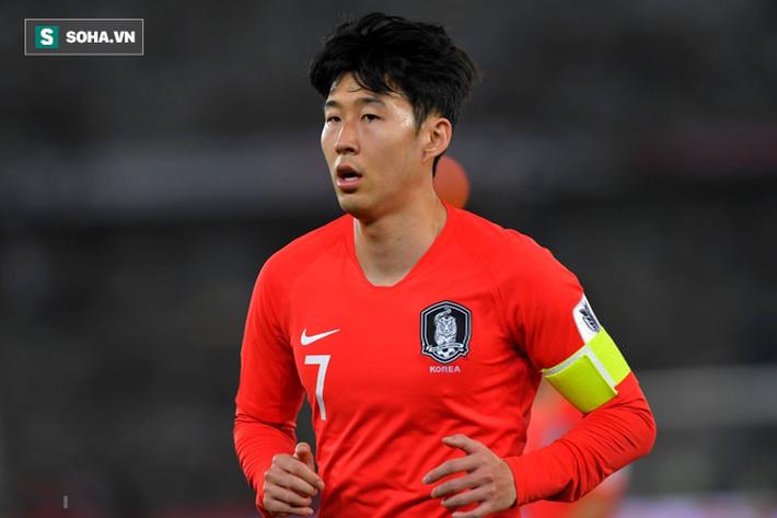 Son Heung-min tỏa sáng trong màu áo Tottenham nhưng lại gây thất vọng ở Asian Cup 2019.