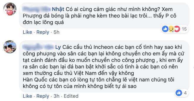 Fan Việt Nam bình luận về lần thứ 2 Công Phượng đá chính ở Hàn Quốc.