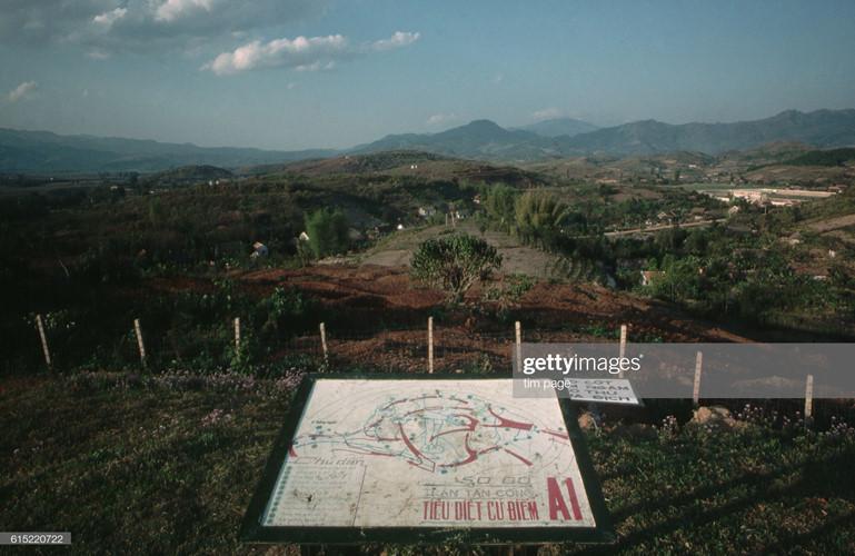 Khung cảnh nhìn từ đồi A1, nơi diễn ra trận đánh khốc liệt nhất chiến dịch Điện Biên Phủ năm 1954.