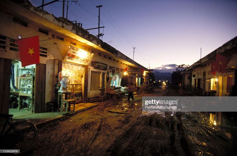 Một con đường ở thị xã Điện Biên Phủ.