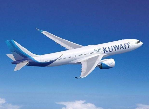 Một chiếc máy bay khác của hãng Kuwait Airways.