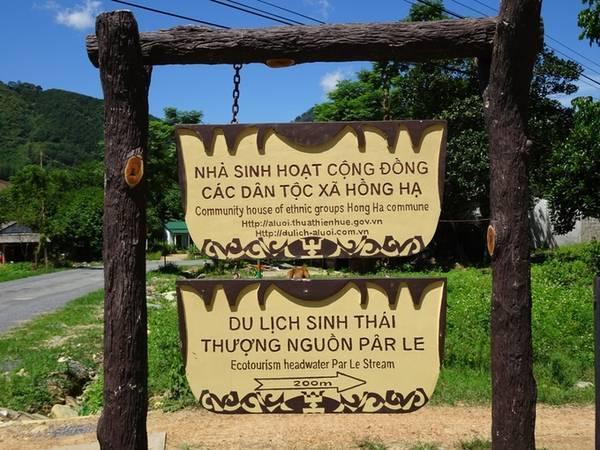 Khu du lịch sinh thái Pârle A Lưới. (Ảnh: Quách Duy Thịnh/Vnexpress)