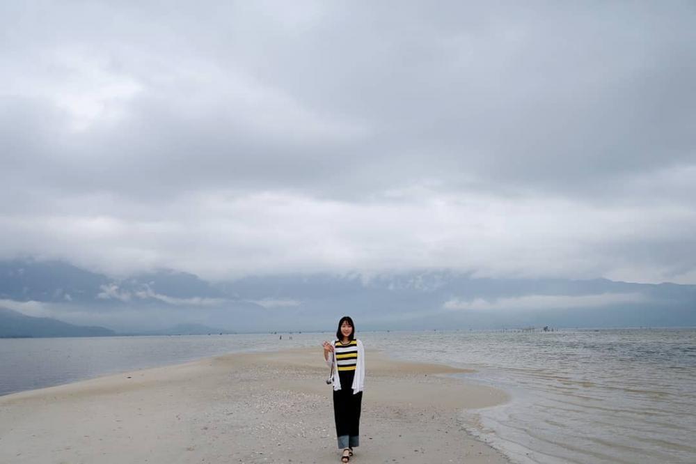 Khi thủy triều xuống, con đường sẽ hiện ra_ ảnh IG @__kyeonghwa