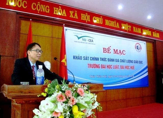 PGS.TS Nguyễn Quang Linh mong muốn rằng trường Đại học Luật sớm có định hướng khắc phục những khuyến nghị của đoàn để cải tiến mạnh mẽ, nhằm nâng cao chất lượng trong tương lai.