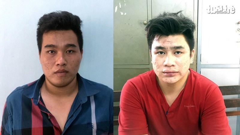 Hai nghi can Tài và Phú đã bị bắt giữ.