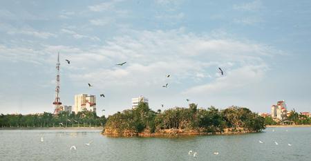 Đảo Cò, phường Lê Lợi (thành phố Hưng Yên)