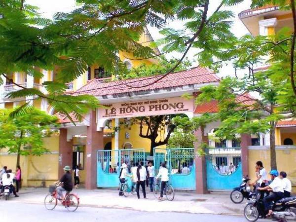 Trường THPT chuyên Lê Hồng Phong, Nam Định, nơi Phạm Thu Hà dự kỳ thi THPT quốc gia