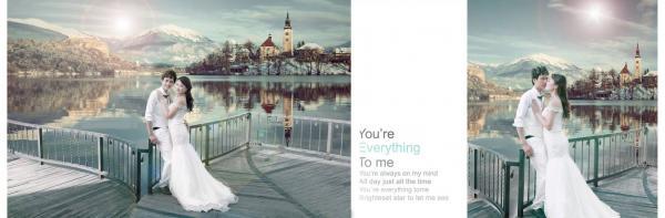 Khiến cho bộ ảnh cưới không bị nhàm chán. (Nguồn: anhviendongdieu.com)