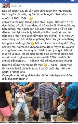 Trên Facebook cá nhân, thanh niên lừa đảo ghi tên Công, quê Hưng Yên