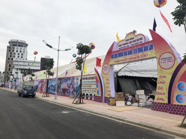 Chợ Như Quỳnh khang trang hiện đại, hứa hẹn là nơi diễn ra nhiều sự kiện hoạt động thương mại, hội chợ.