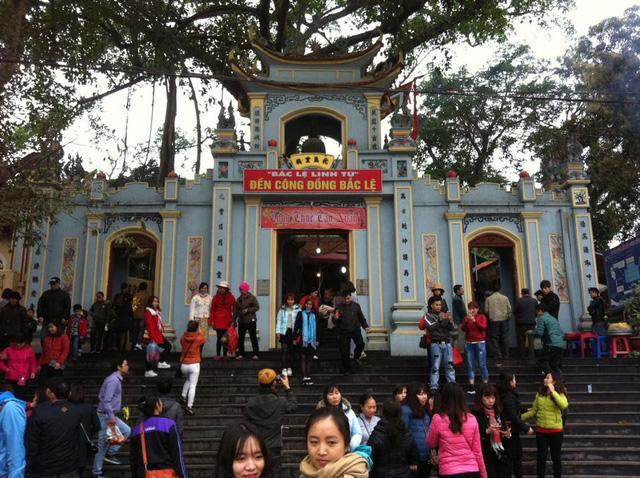 Năm mới Công đồng Bắc Lệ và các đền, chầu ở thượng ngàn luôn đông đúc người về lễ bái. Ảnh: Kường Huy