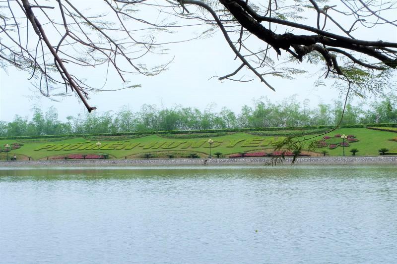 Đền Mẫu nằm trong Quần thể di tích Phố Hiến nổi tiếng của phường Quang Trung, TP. Hưng Yên.